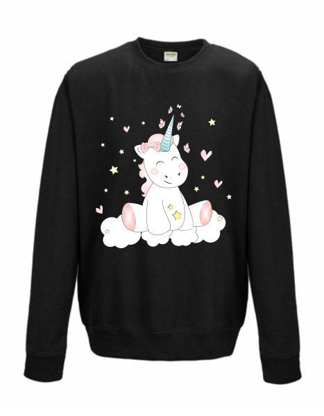 Sweatshirt Shirt Pullover Pulli Unisex Unicorn Einhorn cutie
