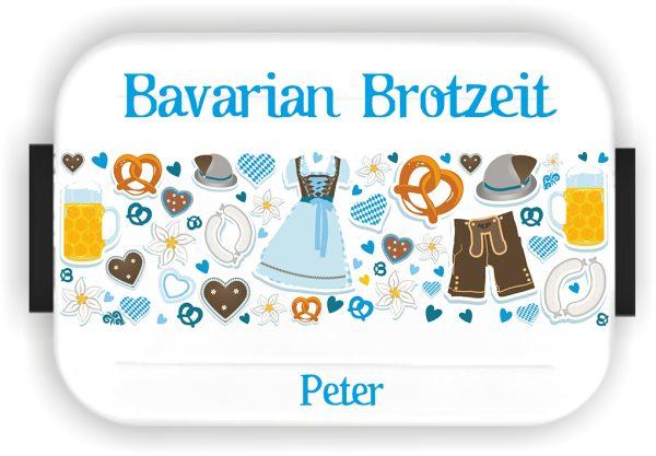 Bento Brotdose Take A Break Large Weiß Bavarian Brotzeit