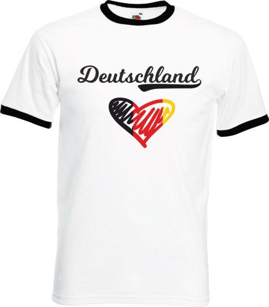Herren T-Shirt WM 2018 Motiv 9 Herz