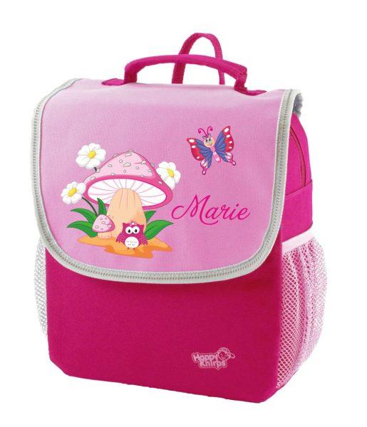 Kindergartenrucksack Happy Knirps NEXT Mit Name, Pink Motivauswahl