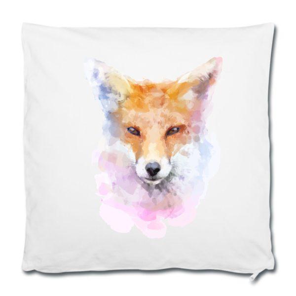 Dekokissen Kissen Watercolor Fuchs