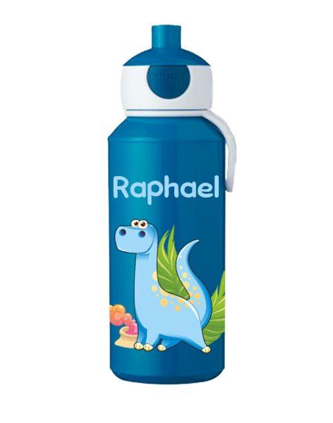 Trinkflasche Mepal Campus Pop-Up Blau Dino