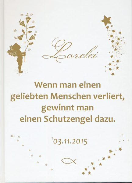 Fotoalbum Erinnerungsbuch Goldener Engel