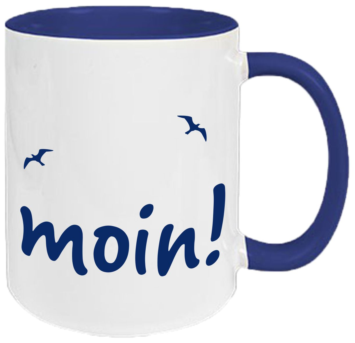 keramiktasse tasse kaffee tee becher navy maritim moin moin tassen tassen schnell. Black Bedroom Furniture Sets. Home Design Ideas