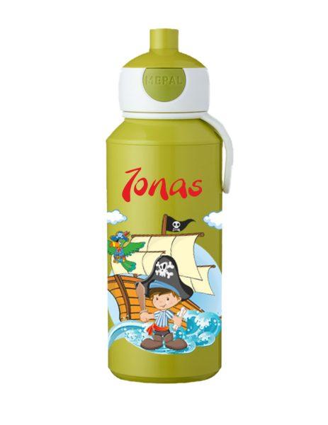 Trinkflasche Mepal Campus Pop-Up Lime Pirat