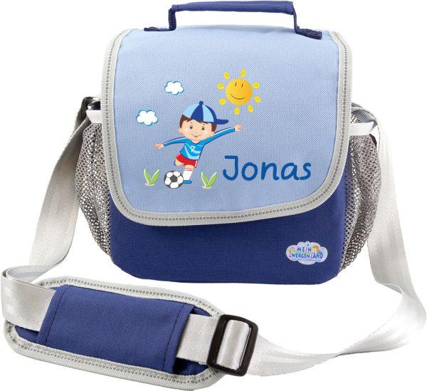 Kindergartentasche Happy Knirps Blau Fußballer Junge