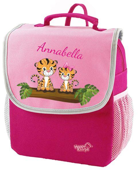 Kindergartenrucksack Happy Knirps NEXT Mit Name, Pink, verschiedene Motive