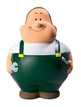 Squeezies® Knautschfigur Herr Bert Schrauber Bert® grün
