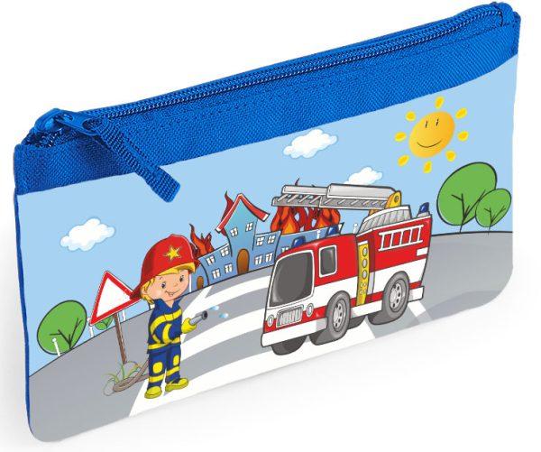 Stiftetasche Schlampermäppchen Feuerwehr