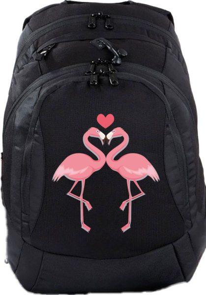 Schulrucksack Teen Compact Flamingo