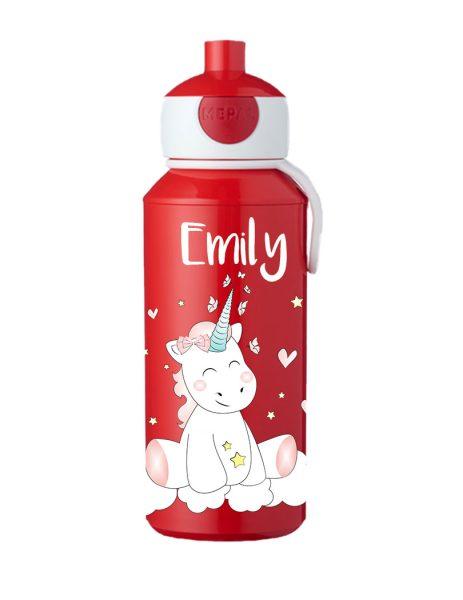 Trinkflasche Mepal Campus Pop-Up Einhorn Cutie