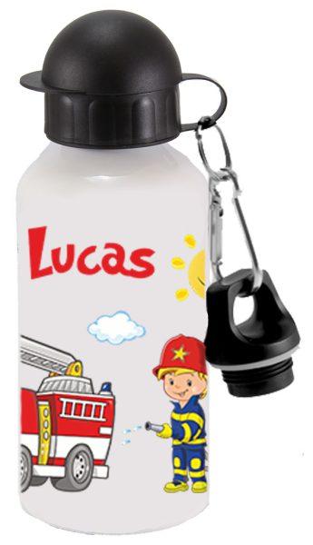 Alu-Trinkflasche Feuerwehr