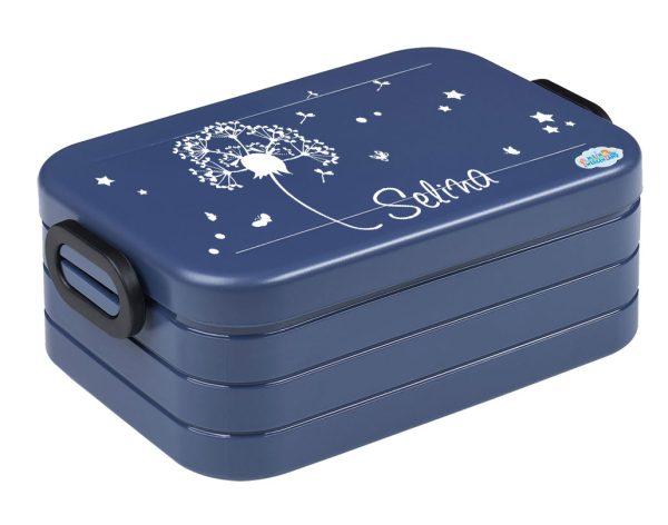 Brotdose Lunchbox Maxi Take A Break midi BENTO Box mit Gabel Pusteblume