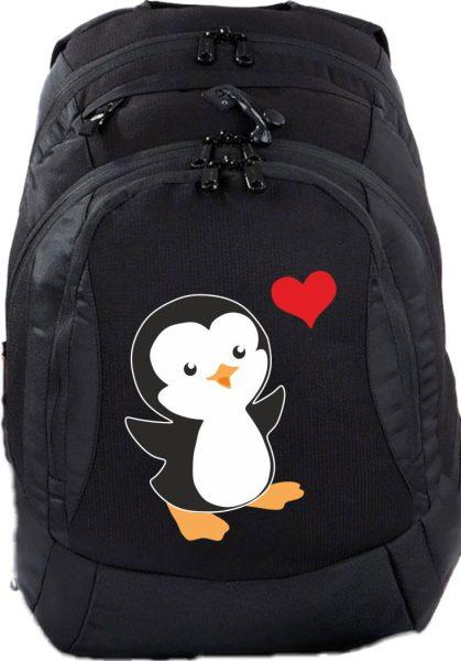 Schulrucksack Teen Compact Pinguin