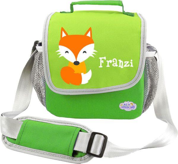 Kindergartentasche Happy Knirps grün Fuchs