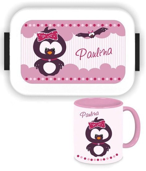Bento Brotdose Take A Break Large - Tasse - Pinguin