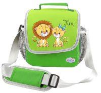 Kindergartentasche Happy Knirps grün Löwe