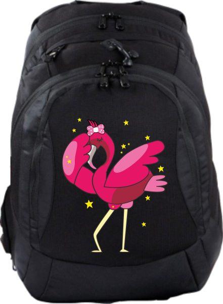 Schulrucksack Teen Compact Dabbing Flamingo
