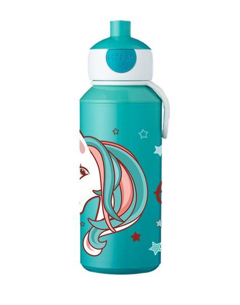 Trinkflasche Mepal Campus Pop-Up Türkis - Motivauswahl