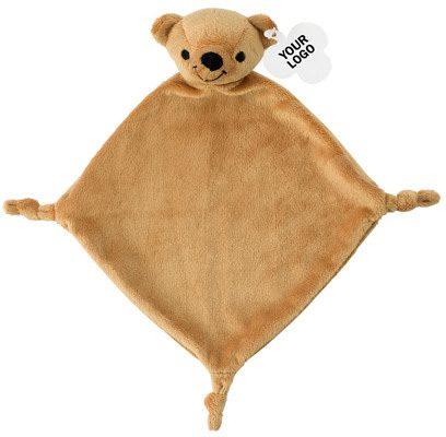 Plüsch-Schnuffeltuch Teddy