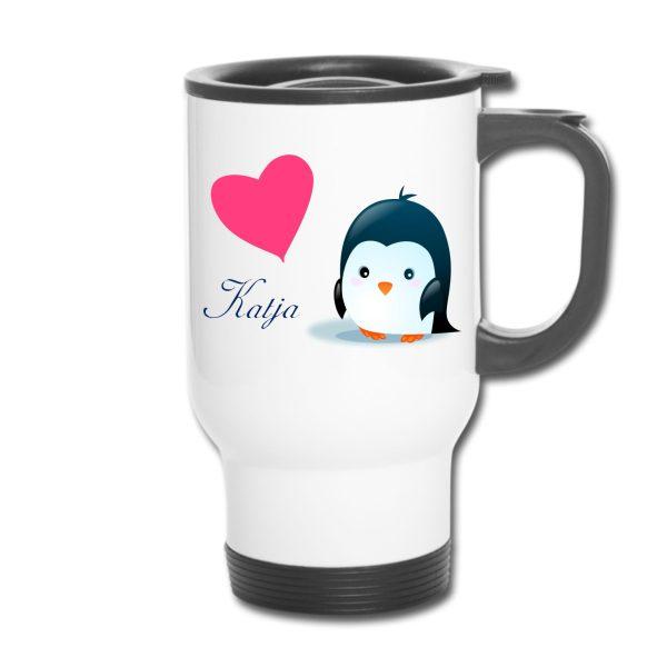 Thermobecher - Penguin Pinguin Pingu
