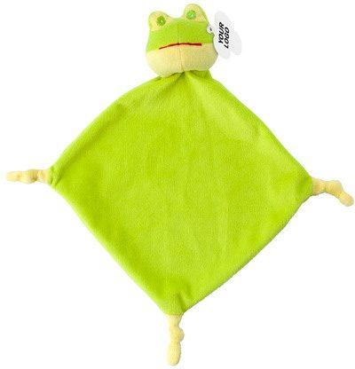 Plüsch-Schnuffeltuch Frosch