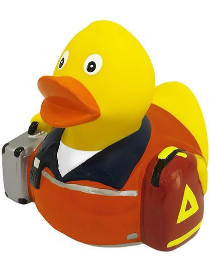 Quietsche-Ente Quietscheente Badeente Rettungssanitäter