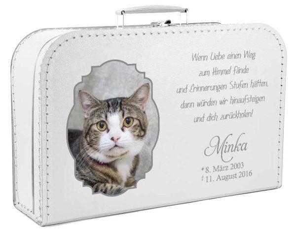Koffer für Tiere mit Foto