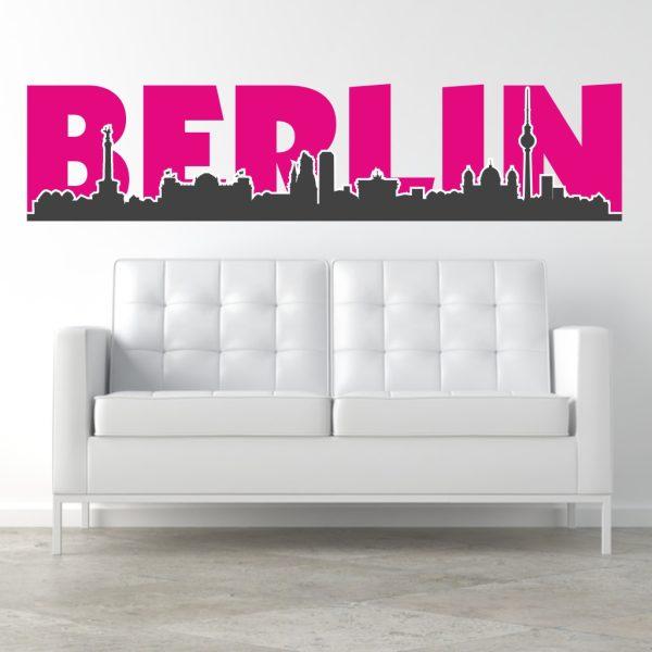 Berlin Wandtattoo wandtattoo berlin silhouette | teen motive | wandtattoos und