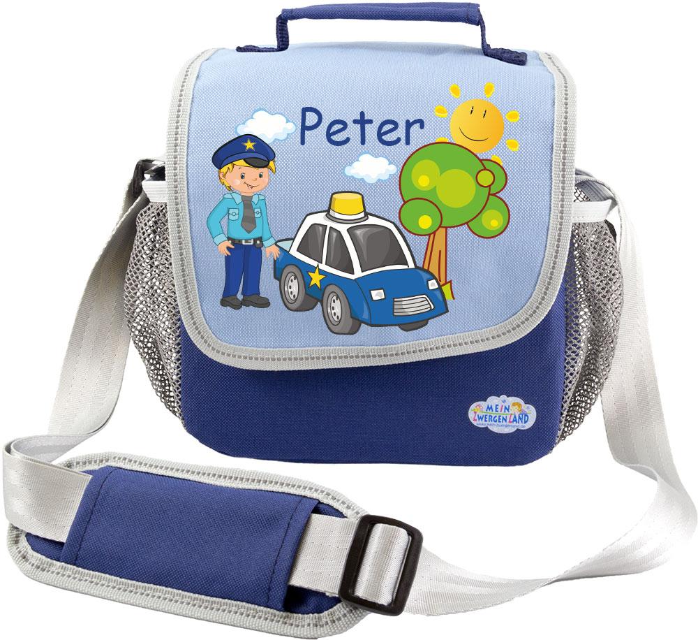 kindergartentasche happy knirps blau polizei kindergartentaschen rucks cke und taschen. Black Bedroom Furniture Sets. Home Design Ideas
