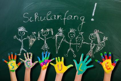Einschulung-Kinder-Schulanfang