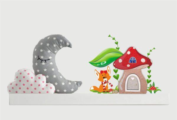 Zauberhafte Elfentürchen Feentürchen Wichteltür Pilzhaus Fuchs