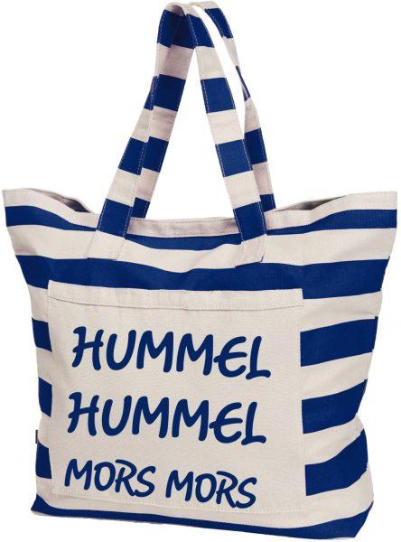 Streifen-Strandtasche Shopper maritim Hummel Hummel Mors Mors